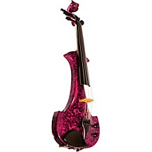 Lyra Series 5-String Electric Violin Purple Marble