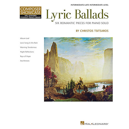 Hal Leonard Lyric Ballads - Six Romantic Pieces For Piano Solo