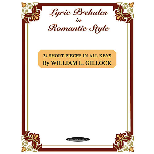 Alfred Lyric Preludes in Romantic Style Intermediate/Late Intermediate Piano