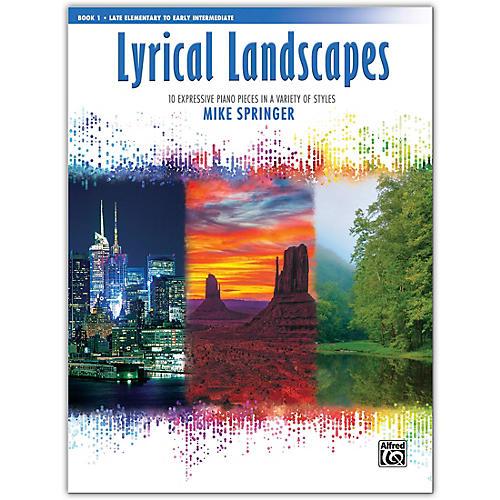 Alfred Lyrical Landscapes, Book 2 Early Intermediate / Intermediate