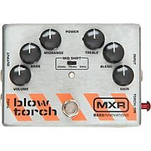 Open BoxMXR M-181 Bass Blowtorch Overdrive Distortion Pedal