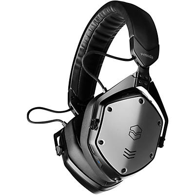 V-MODA M-200 ANC BK Noise Cancelling Wireless Bluetooth Over-Ear Headphones With Mic for Phone-Calls