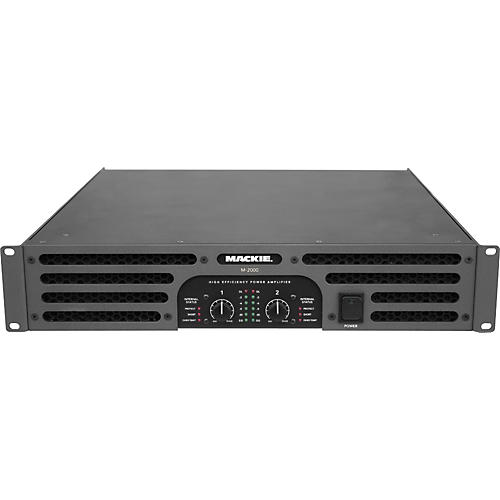 Mackie M-2000 High-Efficiency Stereo Power Amplifier