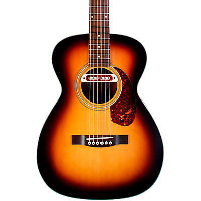 Guild M-240E Troubadour Concert Acoustic-Electric Guitar