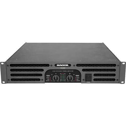 Mackie M-4000 High-Efficiency Stereo Power Amplifier
