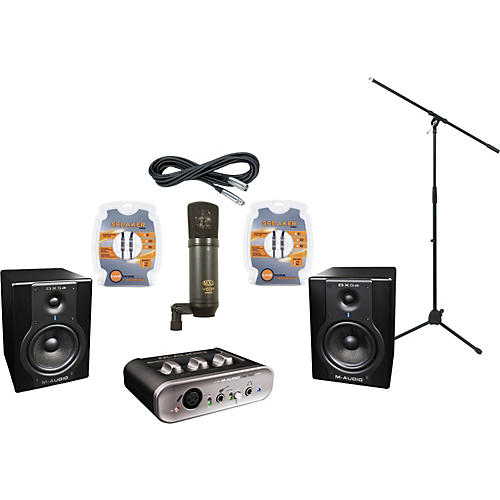 M-Audio M-Audio FastTrack MKII and BX5a Recording Package