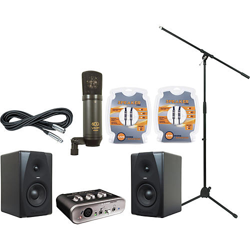 M-Audio M-Audio FastTrack MKII and CX5 Recording Package