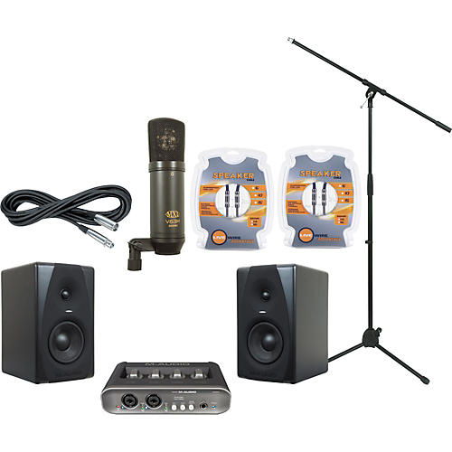 M-Audio M-Audio MobilePre MKII and CX5 Recording Package