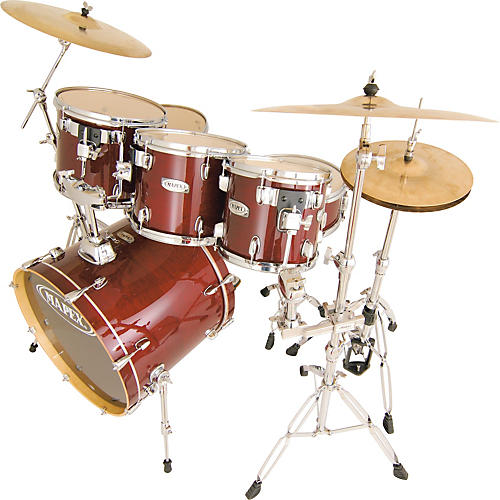 Mapex M Birch 5-piece Fusionease Drum Set with Free 8
