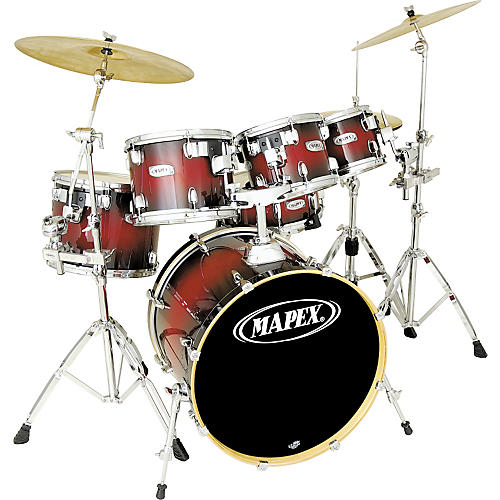 Mapex M Birch Fusion 5 Piece Drum Set With Free 8