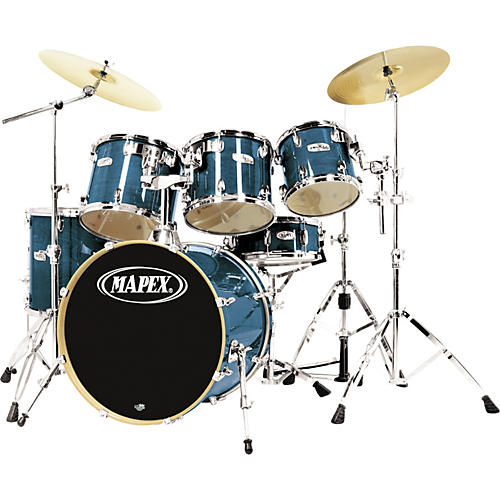 Mapex M Birch Standard 5 Piece Drum Set With Free 10