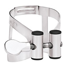 M/O Series Clarinet Ligature Bass Clarinet - Pewter