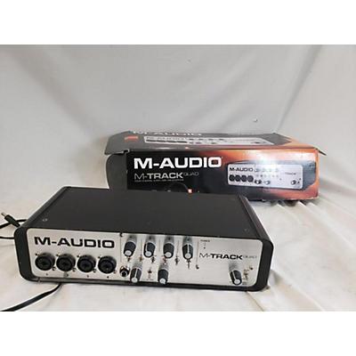M-Audio M TRACK QUAD Audio Interface