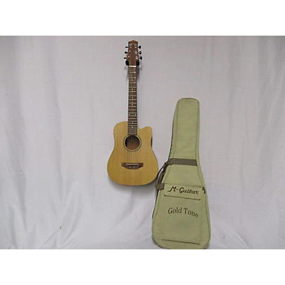 Gold Tone M-guitar Travel Guitar Acoustic Electric Guitar