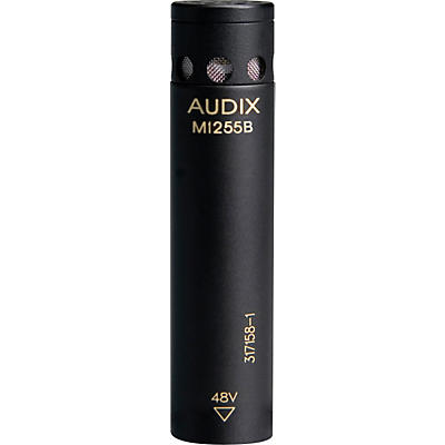 Audix M1255B Miniturized High Output Condenser Microphone for Distance Miking