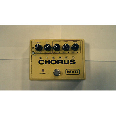 MXR M134 Stereo Chorus Effect Pedal