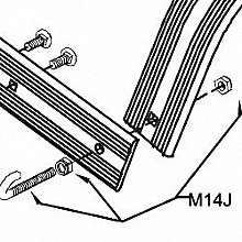 Pearl M14J J Bolt Assembly