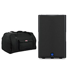 "Turbosound M15 15"" 1,100W Powered Speaker with Tote"