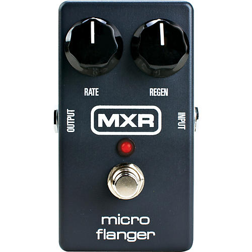 MXR M152 Micro Flanger Guitar Effects Pedal