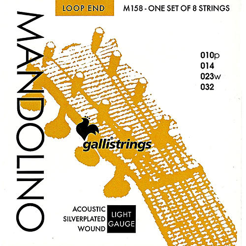 Galli Strings M158 Silverplated MANDOLINO Strings