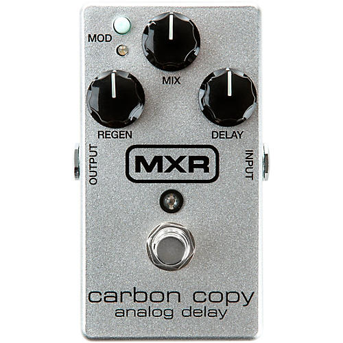 MXR M169A Carbon Copy Analog Delay 10th Anniversary Guitar Effects Pedal