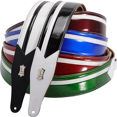 M17FS Vinyl Racing Stripe Guitar Strap