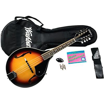 Washburn M1K A-Style Mandolin Package
