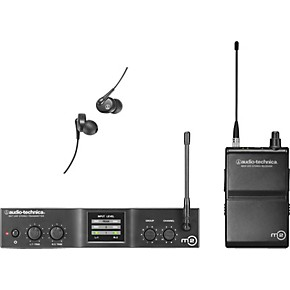 audio technica m2 in ear wireless monitor system band l musician 39 s friend. Black Bedroom Furniture Sets. Home Design Ideas