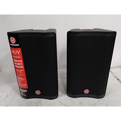 Harbinger M200-BT Portable PA Sound Package