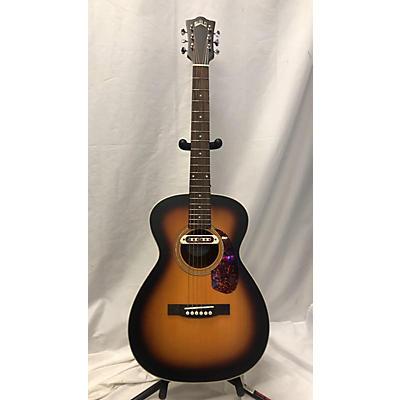 Guild M240E Troubadour Concert Acoustic Electric Guitar