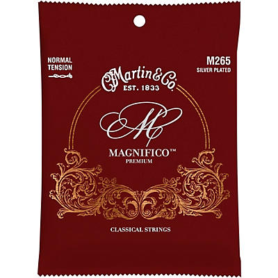 Martin M265 Magnifico Normal Tension Silverplated Strings