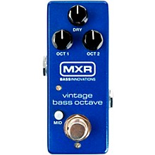 Open BoxMXR M280 Vintage Bass Octave Mini Effects Pedal
