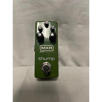 MXR M281 Thump Bass Preamp Pedal Green Bass Preamp