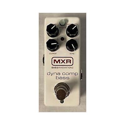 MXR M282 BASS DYNA COMP Effect Pedal