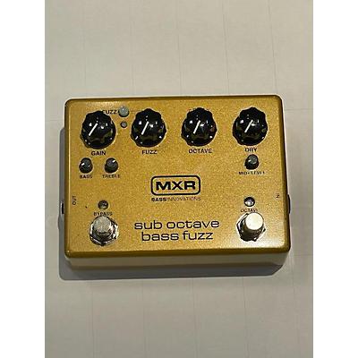 MXR M287 Bass Effect Pedal