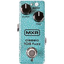 Open BoxMXR M296 Classic 108 Fuzz Mini Effects Pedal