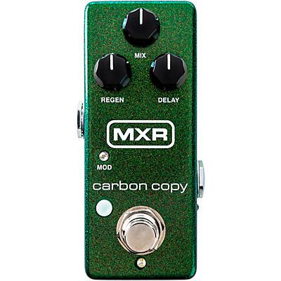 MXR M299 Carbon Copy Mini Analog Delay Effects Pedal