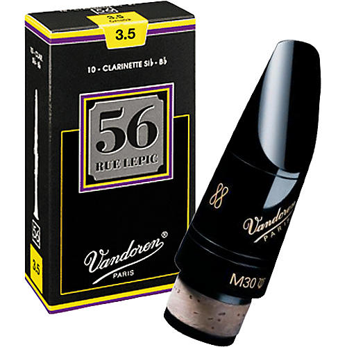 Vandoren M30 Lyre Bb Clarinet Mouthpiece with Half Off Rue Lepic Reeds