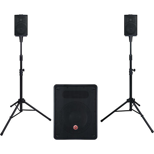 Harbinger M350 Portable PA System with Subwoofer