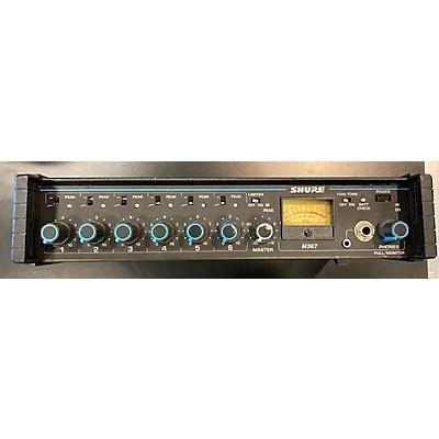 Shure M367 Unpowered Mixer