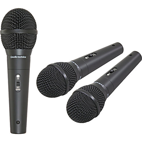 audio technica m4000s microphone 3 pack musician 39 s friend. Black Bedroom Furniture Sets. Home Design Ideas