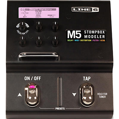 Line 6 M5 Stompbox Modeler Guitar Multi-Effects Pedal
