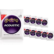 Martin M540 Phosphor Bronze Light 10-Pack Acoustic Guitar Strings