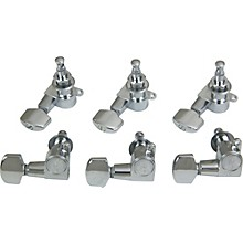 Open Box Schaller M6 Mini Tuning Machine Heads 6 In-Line
