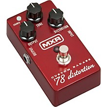 Open Box MXR M78 Custom Badass '78 Distortion Guitar Effects Pedal