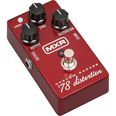 MXR M78 Custom Badass '78 Distortion Guitar Effects Pedal