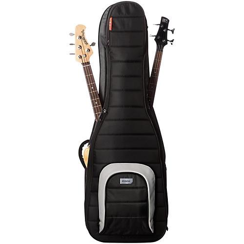 MONO M80 Dual (Double) Bass Guitar Case Jet Black