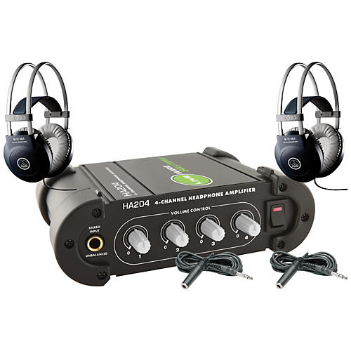 AKG M80 MKII Headphone Amp Package