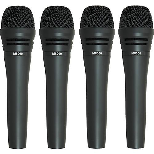 Audio-Technica M8000 Dynamic Mic 4 Pack