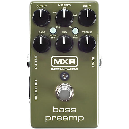 MXR M81 Bass Preamp Condition 2 - Blemished Regular 194744175404